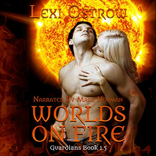 Worlds on Fire audiobook cover art