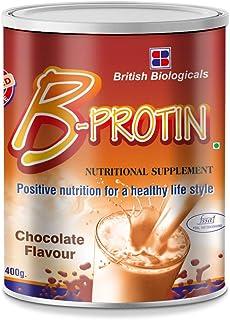 British Biologicals B-Protin   Complete Nutritional Supplement  Trans fat, Gluten, & Cholesterol free Immunity Booster   C...