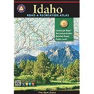 Idaho Road & Recreation Atlas (Benchmark Recreation Atlases)