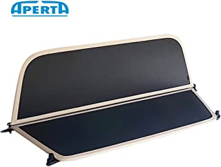 Aperta Beige Wind Deflector Compatible with BMW 1 Series E88 | Tailor Made Windblocker | Draft-Stop | Windstopper BMW Convertible