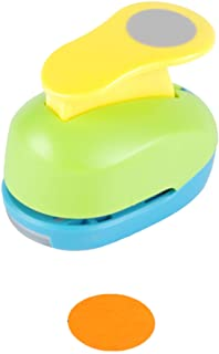 Circle Punch 1 inch Craft Lever Punch Handmade Paper Punch Candy Color by Random(Candy Circle)