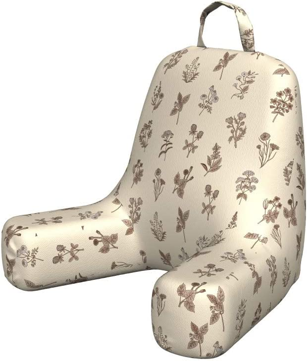 Ambesonne Botanical Reading Pillow Herbs Arom Popular overseas half Plants Continuous
