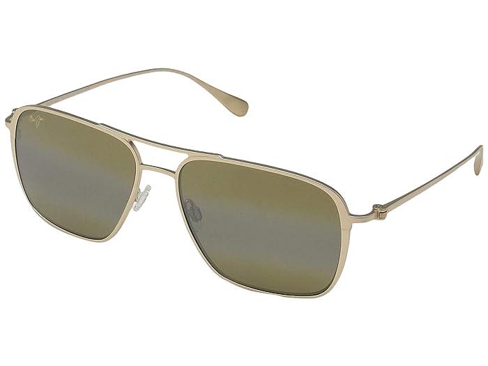 Beaches (Satin Gold/HCL Bronze) Fashion Sunglasses