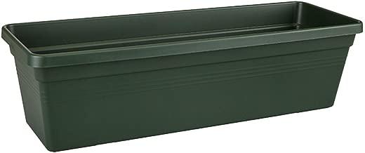 elho Green Basics Trough Jardinera, 6 litros, Verde(Leaf), 39x16,5x13,7 cm