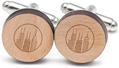 chicago skyline cufflinks