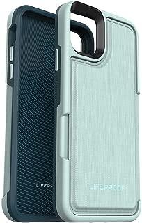 LifeProof FLIP SERIES Case for iPhone 11 Pro Max - WATER LILY (SURF SPRAY/DARK JADE) (Renewed)