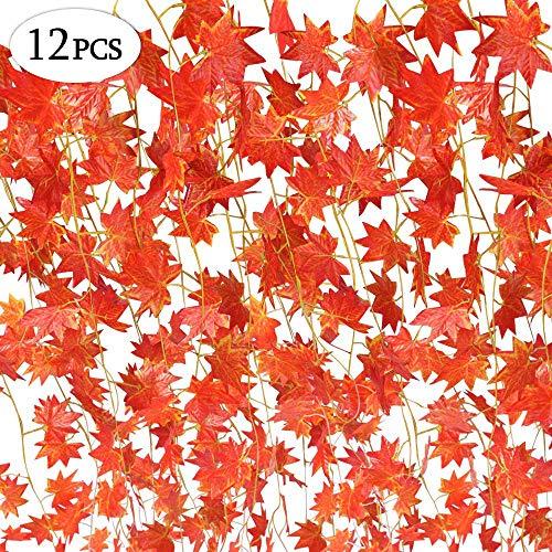 Specool - 12 tiras (24,38 metros) de hojas artificiales