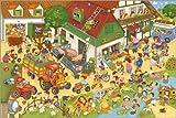 Poster 90 x 60 cm: Ferien auf dem Bauernhof von Marion