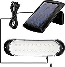 Zonnelampen voor buiten, met trekschakelaar, 20 leds, zonnelamp voor buiten, veiligheidswandlamp, IP44, buitenlamp, hangen...
