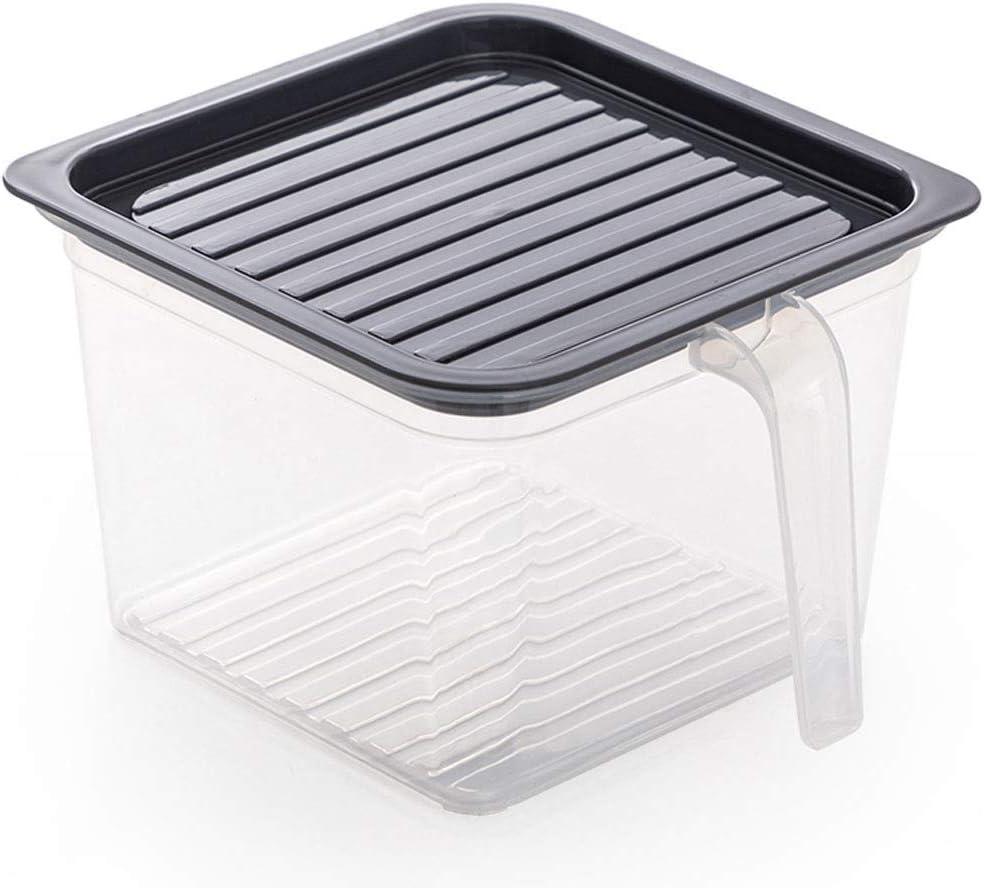 Max 58% OFF Kcakek Refrigerator Storage Box Plastic Dr Preservation Food Popular brand