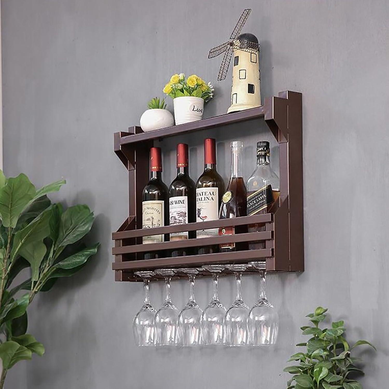 las mejores marcas venden barato ZCCJJ ZCCJJ ZCCJJ Series de Parojo montado en la Parojo Estante de Vino de Metal autoensamblaje Estante del Vino galvanizado (Tamaño   B80CM)  70% de descuento