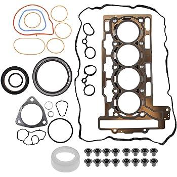MOTOALL 9815416 Head Gasket Kit Set for Mini Cooper R56 2007 Cylinder 1.6L DOHC