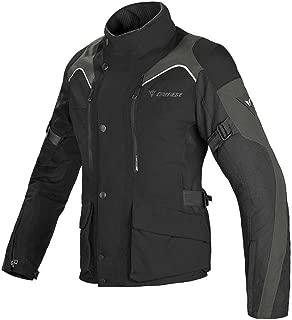 Dainese Tempest D-Dry Textile Women's Motorcycle Jacket (EU 46 / US 36, Black/Black/Dark Grey)