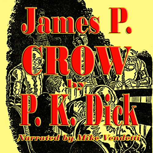 James P. Crow audiobook cover art