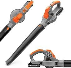 Terratek Cordless Leaf Blower 20V Battery and Charger, Garden Blower lightweight Powerful Electric Cordless Design