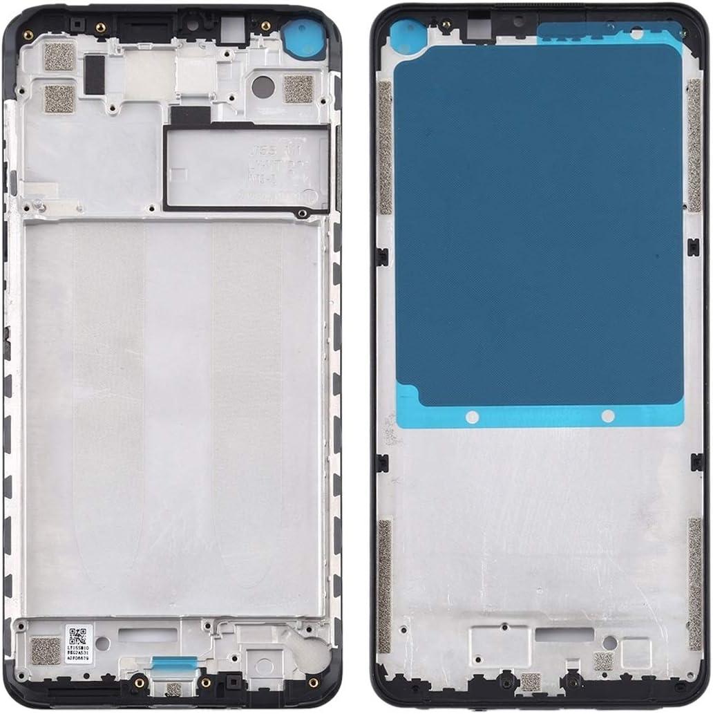 YGMOTO XIO LCD Marco de ATF Frontal de la Carcasa del Bisel Placa for Xiao-mi Mi redmi Note 9 / redmi 10X 4G (Negro) (Color : Black)