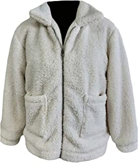 Energy Women's Pockets Plus Velvet Zip Up Pure Color College Jacket