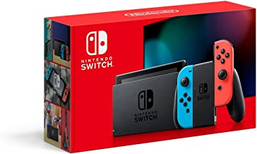 Nintendo Switch with Neon Blue and Neon Red Joy‑Con - HAC-001(-01) (Renewed)