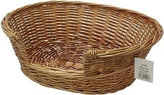 JVL Pet Basket Willow, 58 x 49 x 20 cm by JVL