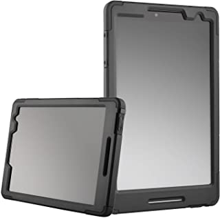 Ellipsis 8 HD Case With Built In Screen Protector Heavy Duty Slim Design Black ( CaseTek ) ( Does Not Fit The Ellipsis 8 2014 Old Model )