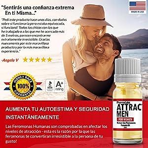 FEROMONAS El secreto PARA ATRAER HOMBRES! PODEROSAS SEXO FEROMONA HUMANAS Aceite Puro perfume 10ML #025