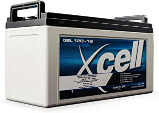 X-Cell 12V 120Ah Portable Sealed SLA AGM Deep Cycle Battery Ideal for 4WD, Caravan or Marine