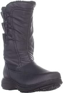 Sporto Womens Dana Closed Toe Mid-Calf Cold Weather Boots US