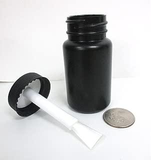 1 Empty Plastic Bottles Brush Applicator Cap Arts Craft Paint Jar Container 2oz