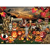 TOCARE Large 5D Diamond Painting Kits for Adults Kids Christmas Day 20x16Inch/50x40cm Full Drill Crystal Embroidery Dotz Christmas Day for Your Family,Pumpkin Harvest