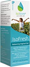 IsoFresh Vaginal Moisturizer Gel: for Odor Control and Balanced pH, 12 Applications, Paraben-Free, Clinically Shown to Decrease Odor Concerns and Lower Vaginal pH