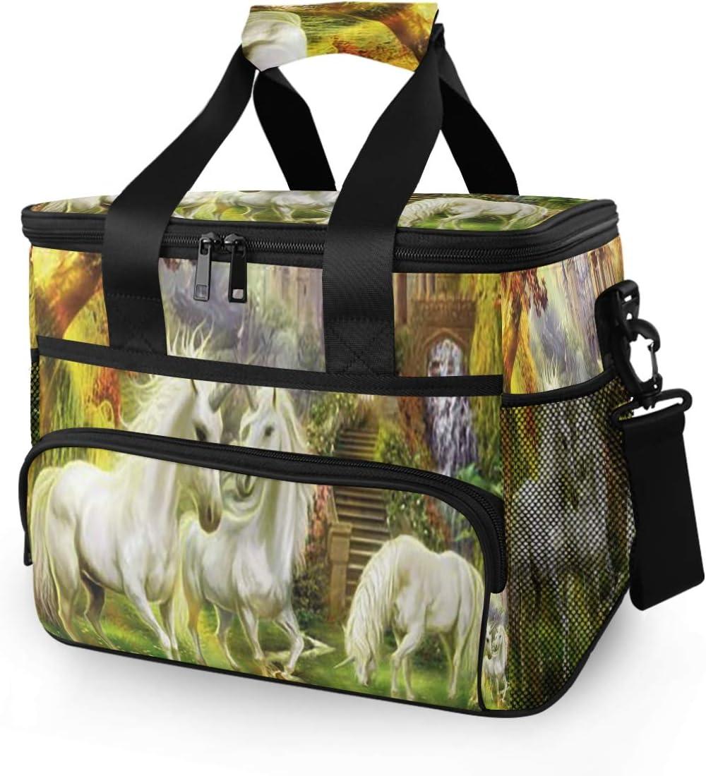 Picnic Insulated Bag Ranking TOP2 Wonderland Industry No. 1 Art Unicorn Fo Horse Myths Greek