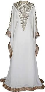 Royal Bliss Kaftan for Women - Long Sleeve Maxi Dress, Formal Gown Evening Dress