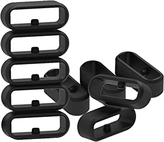 Replacement Fastener Rings Compatible with Garmin Fenix 5S/Fenix 5S Plus/Fenix 6S/Fenix 6S Plus Bands(Pack of 11) Silicone...
