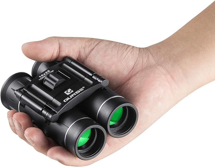 Binocolo professionale compatto, cannocchiale, mini binocolo qunse 10x25- binocolo basso prezzo QUNSE-X28