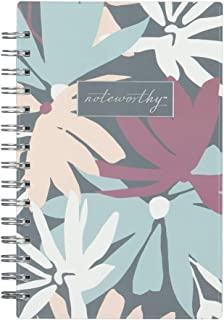 Blue Sky Noteworthy 2019-2020 Academic Year Weekly & Monthly Planner, Durable Flexible Cover, Silver-Tone Twin-Wire Binding, 5