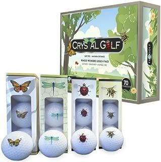 Crystal Golf BallsWinged Wonders 1 Dozen