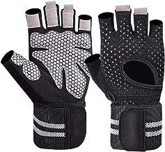 Abaodam 1 paar fitness gym handschoen anti-slip ademend gewichtheffen pols wrap handschoenen workout bodybuilding handscho...