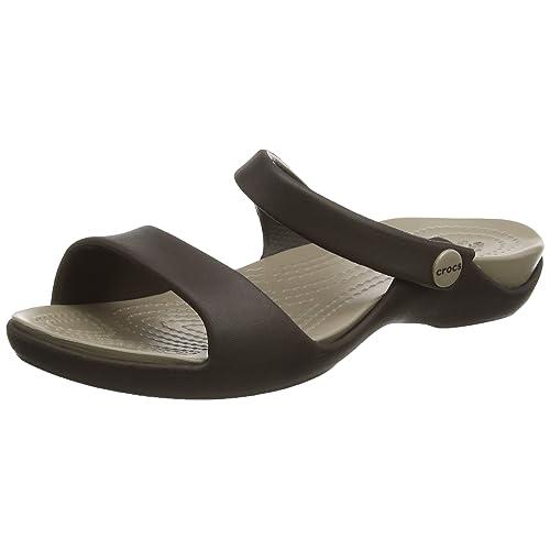 574e979658d9 Crocs Women Cleo V Open-Toe Sandals