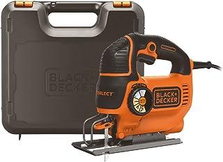 Black+Decker Decoupeerzaag, pendelslagzaag (550W, met AutoSelect, softgrip, Sight-Line, beschermbeugel, zaagblaasfunctie, ...