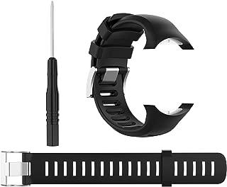 QGHXO Band for Suunto D6 / D6i, Classic Replacement Soft Wristband for Suunto D6 Dive / D6i Novo / D6i Zulu Watch