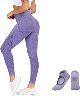 Leggings for Women| High Waisted Leggings Seamless| Tummy Control | Body Shapewear | Pants Leggings for Running | Cycling|...