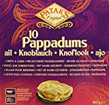 Patak's Pappadums Con Ajo - 12 Paquetes...