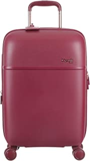 Lipault - Urban Ballet Spinner Hardside 55/20 Luggage - Carry-On Lightweight Expandable Durable Rolling Bag for Women - Amaranth Red
