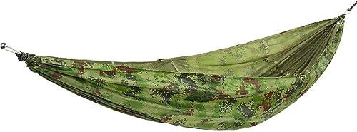 Hengtongtongxun Double Camping hamac - hamac portable, matériel de Parachute, Sac à Dos de Parachute pour hamac Double, Camping, Voyage, Plage, Cour Le dernier Style, Simple