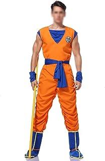 CHENJUNAMZ Disfraces Traje de Dragon Ball Z Goku Hijo del Traje de Cosplay for los Muchachos de Adulto Muchacha del Cabrit...