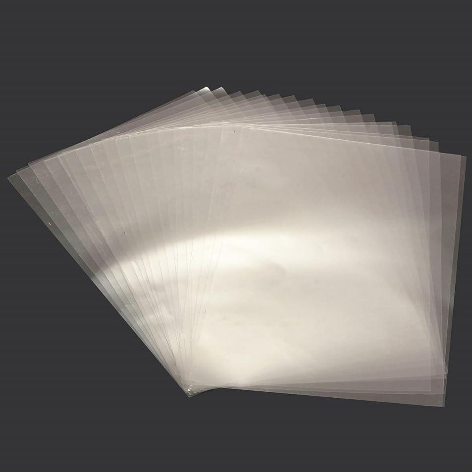 と遊ぶオーバーコートフォーカスSndy 透明な A4 両面粘着テープシートクリア DIY クラフト強い