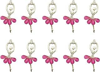 1.8cm Rose 1.2/* 1.8/cm 1.2 Kentop Suspendre comme 10/PCS de DIY en Forme de Coquille en MER pour Bracelet Collier de DIY