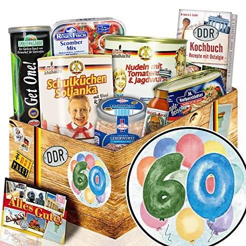 60. Geburtstag + Geschenke zum 60ten + DDR Produkte