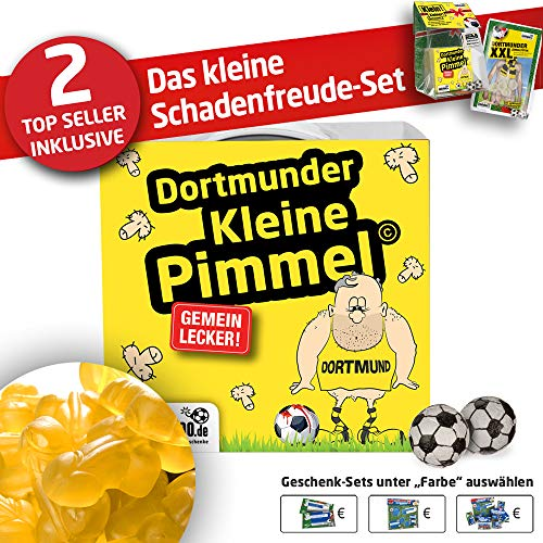 Dortmund 09 Boxershorts ist jetzt KLEINE PIMMEL Set 1: KLEINE Schadenfreude by Ligakakao.de schwarz-gelb männer Shorts Unterhosen