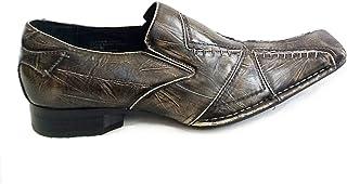 Delli Aldo Men's Slip On Loafers, Apricot-29, M-18355